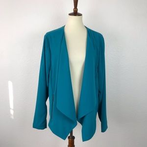 Torrid Asymmetrical Side Pockets Jacket JKT245